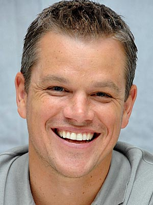 Or maybe this is Matt Damon and a photo from People magazine.