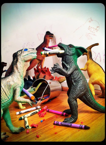 According to the site, this is how you do Dinovember.