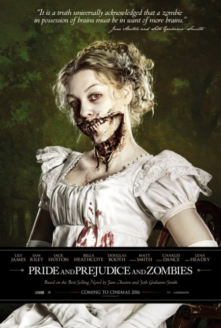 Pride and Prejudice and Zombies (and facials)
